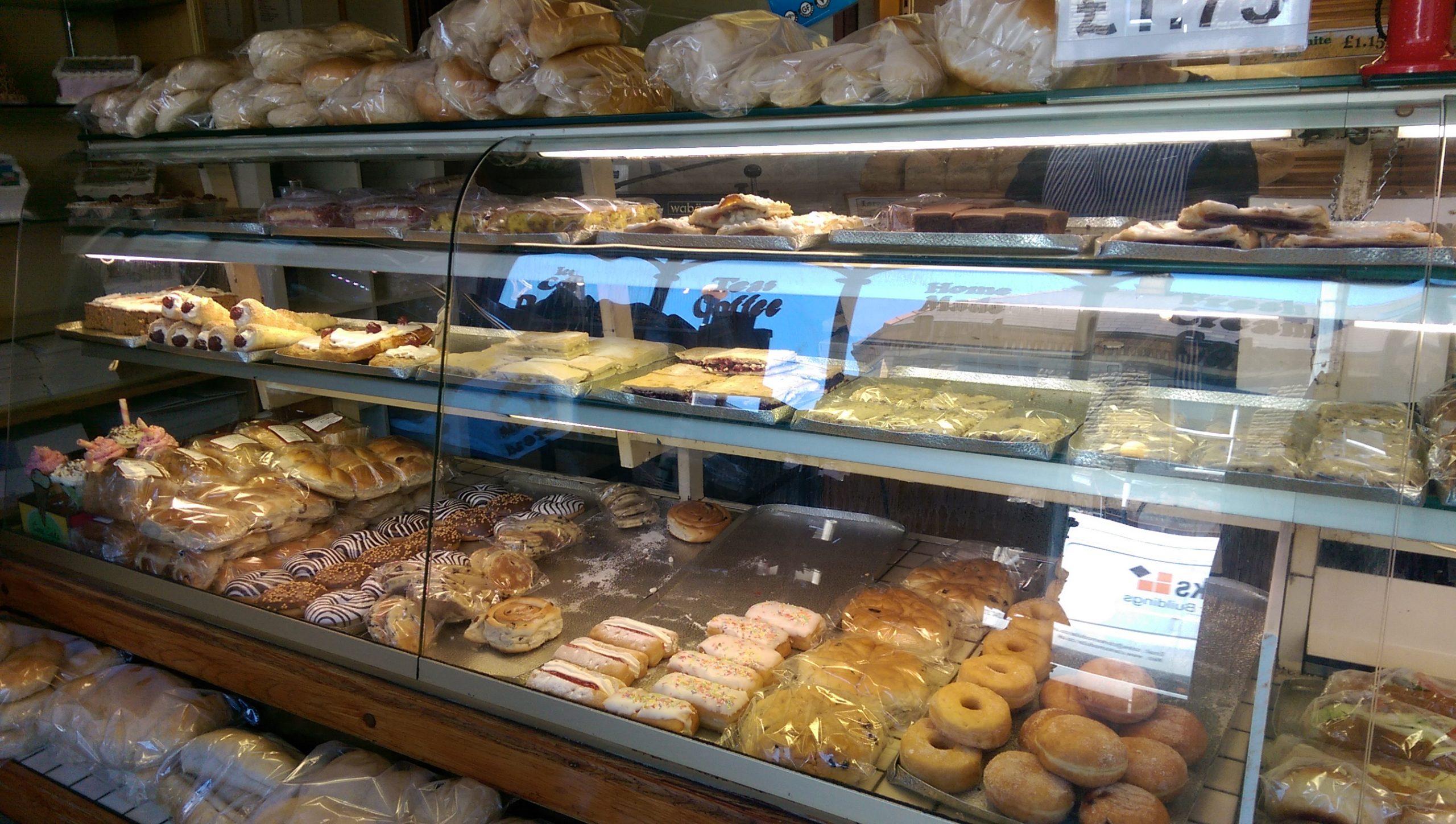Yummy stuff at Carlisle Bakery