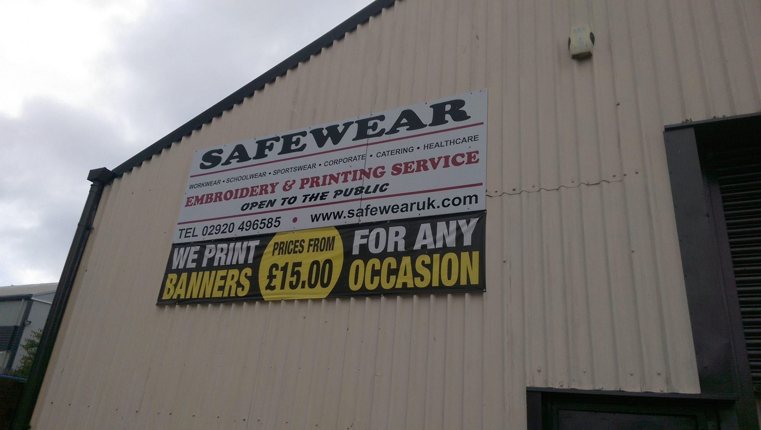 Safewear sign